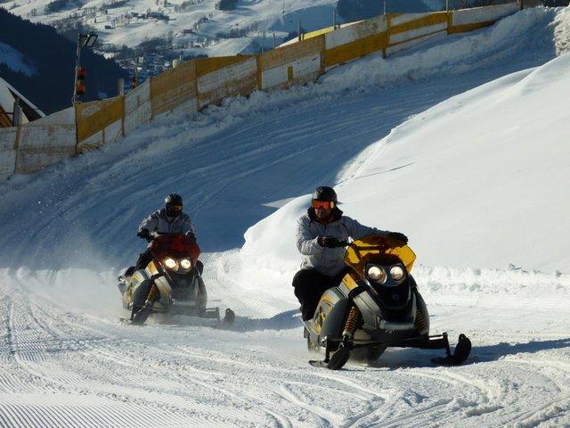 snowmobile